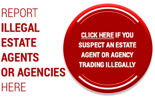 Report illegal estate agents or agencies here!