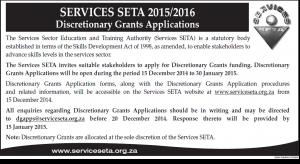 SSETA Discretionary Grant Applications